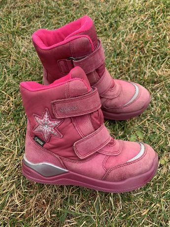 Зимние термо сапоги сапожки ботинки Ecco 29