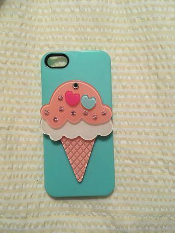Capa de IPHONE 5 SE 5S 5SE * Icecream com espelho
