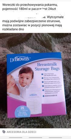 Woreczki dr. Brown's do przechowywania pokarmu, strunowe