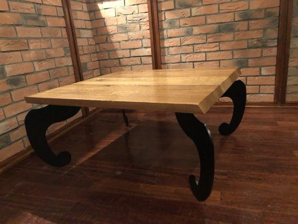 Stolik stół debowy w stylu loft