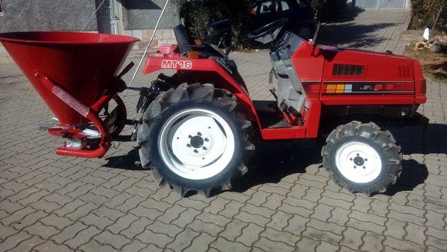 Destribuidor / espalhador de sementes/adubo para mini tractor