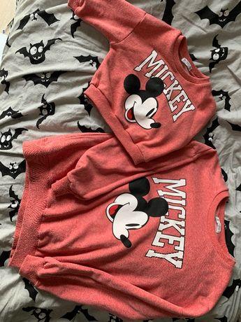Bluza mama i dziecko Mickey