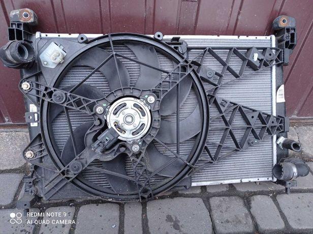 Fiat Bravo II chlodnica wody z wentylatorem 1.6-1.9 Multi jet
