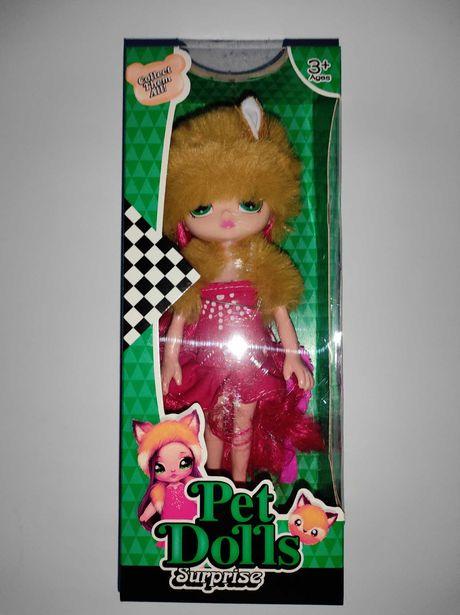 Лялька Pet dolls, лисичка