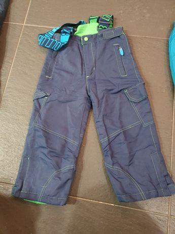 Spodnie  narciarskie 104 od kombinezonu