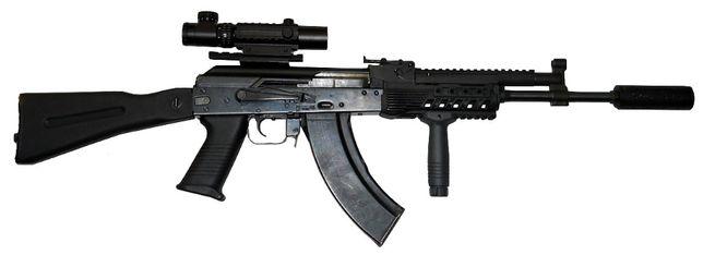 Replika ASG - stalowy karabin AK-74 Tactical (E&L) - SPECNAZ