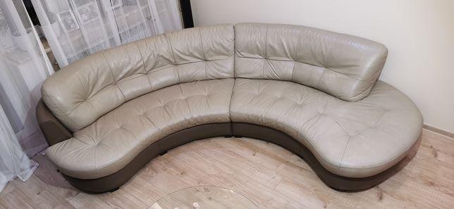 Sofa skórzana (narożnik) Des Bretania