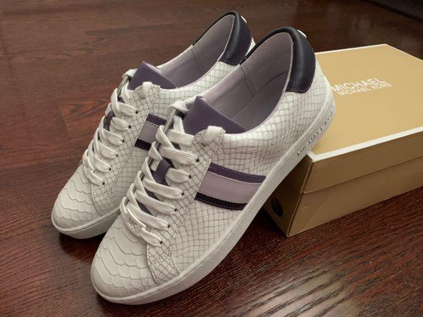 Кросівки Michael Kors Irving Stripe Leather Sneakers US 8.5