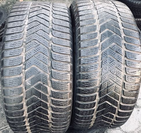 Pirelli 245/40r18 2 шт зима резина шины б/у склад