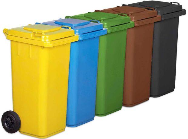 Pojemnik na śmieci kosz 120L kolory