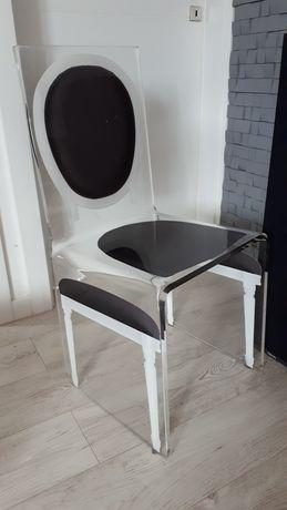 Krzesło akrylowe pleksia