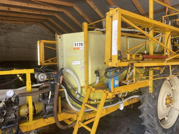 Opryskiwacz ciągany 4000l, dysze RSM, hydrauliczne lance 24m
