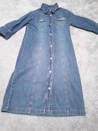 Sukienka jeansowa h&m 140 cm