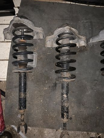 Amortyzatory + sprężyny przódnie Audi a6 c6