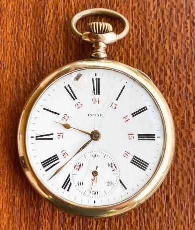 Relógio de bolso Invar em OURO