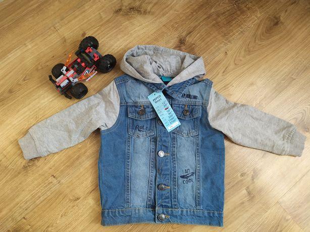 Модна джинсова куртка для хлопчика