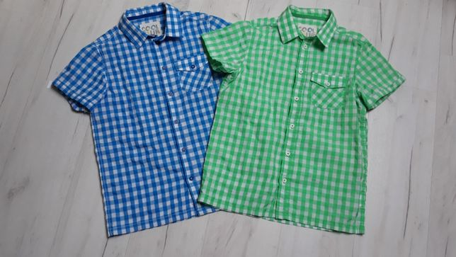 koszule smyk dla blizniakow blizniat r 152