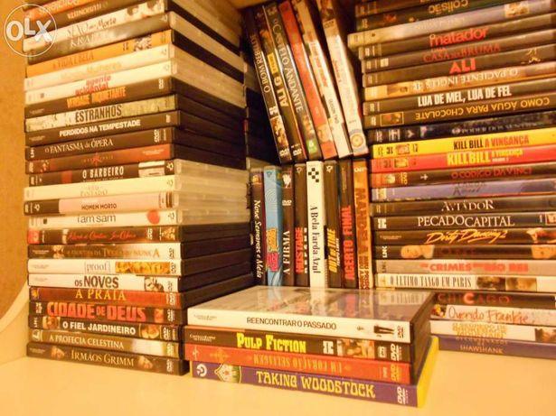 Lote de DVD's vários