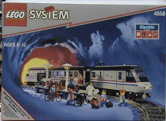 Lego Comboio 9V Metroliner 4558