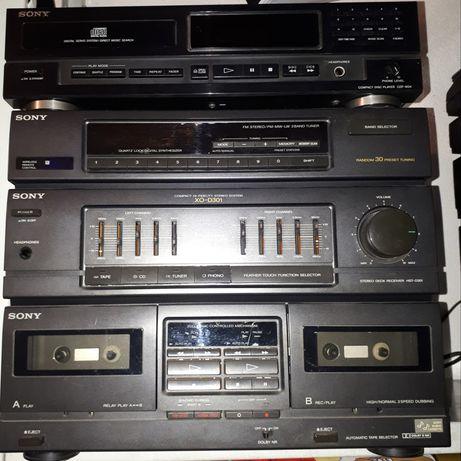 Aparelhagem Sony XO-D301 + Leitor CD CDP-M34