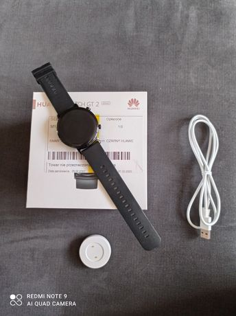 Smartwatch Huawei GT 2 42 mm czarny