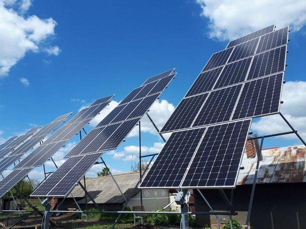 Сонячна електростанція 30 кВт, Сонячні панелі, Сонячні батареї