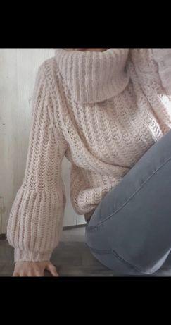 Sweter Charget Boho L piękny okazja