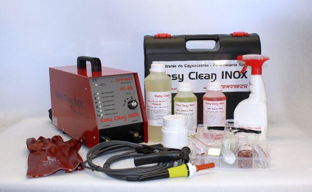 Elektrolityczne trawienie , czyszczenie polerowanie spawów spoin INOX