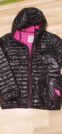 Czarna pikowana kurtka przejściowa leciutka Reserved 158/164