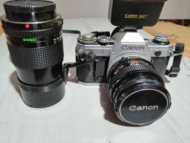 Máquina Fotográfica Canon Analógica AE-1