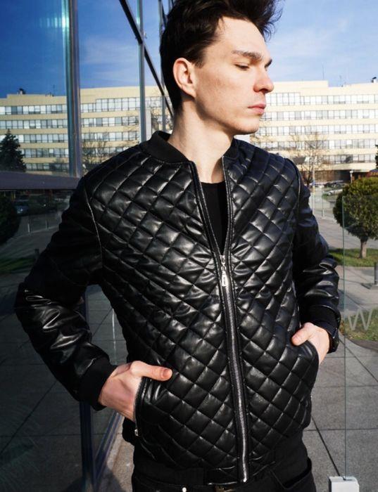 Мужская курточка кож зам Киев - изображение 1