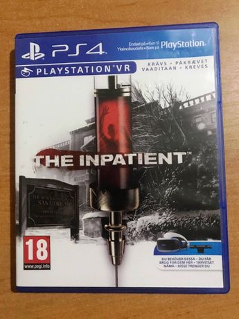 The Inpatient (PS4 VR) Пациент sony pla 4 очки виртуальной реальности