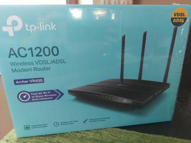 Router TP-Link Archer VR400 - C1200 v 2.0 - na gwarancji