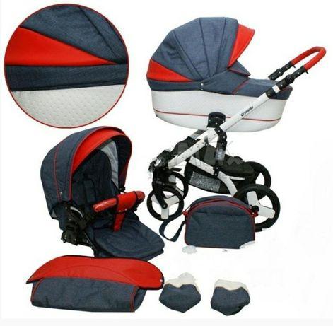 Детская универсальная коляска Mikrus Cruiser New 2 в 1