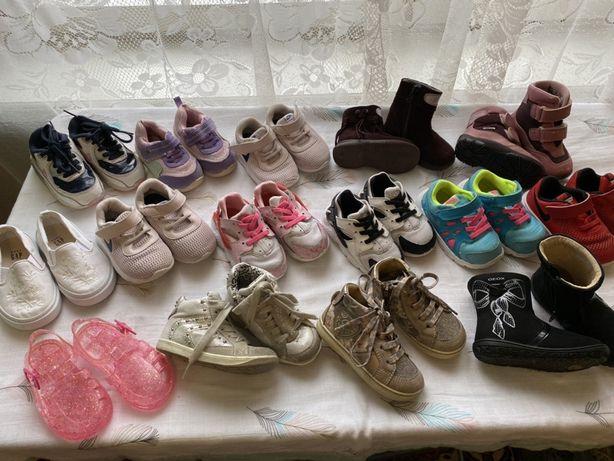 Кроссовки Nike, сандали, туфельки Clarks, ботинки Geox, Primigi