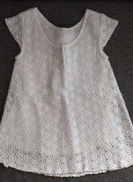 sukienka biała koronka 86