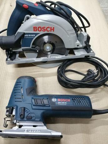Bosch pilarka tarczowa i wyrzynarka
