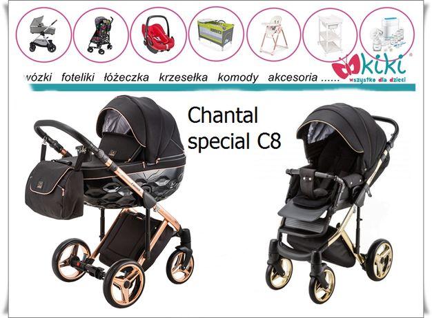 Adamex wózek uniwersalny Chantal Special C8 spacerówka gondola 2w1