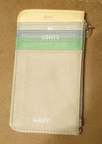 Кожаный органайзер клатч кошелёк портмоне визитница