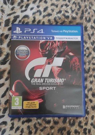 Продам или обменяю диск для PS4 Gran Turismo Sport