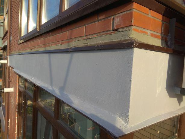 Жк Утепление торца плиты, герметизация балкона. Утепление окон, лоджии