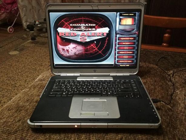 Ноутбук HP Compaq nx9105 с LTP и COM портами