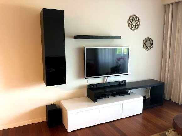 Móvel TV + Alçado + Prateleira