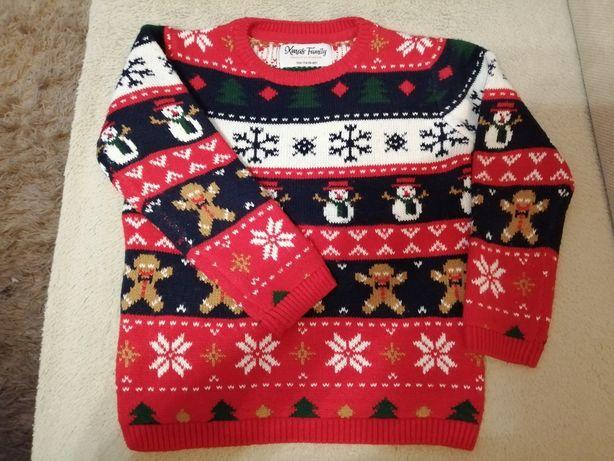 Sweterek świąteczny