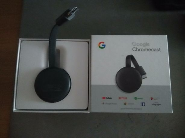 Google Chromecast 3 TV Streaming