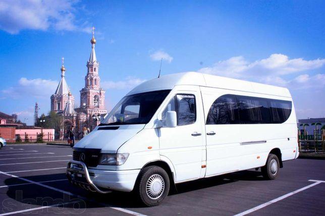Пассажирские перевозки,аренда автобуса(спринтер),развозка работников