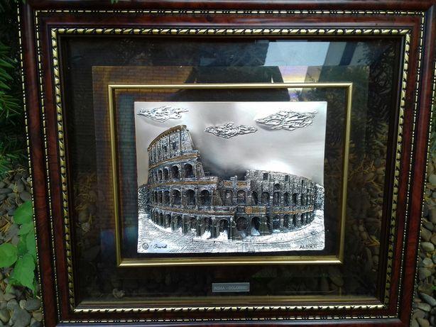 Картина Колизей металл