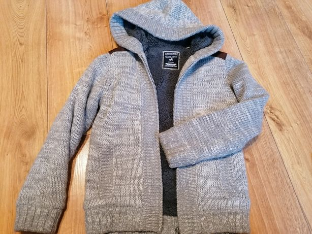 Ocieplany sweter