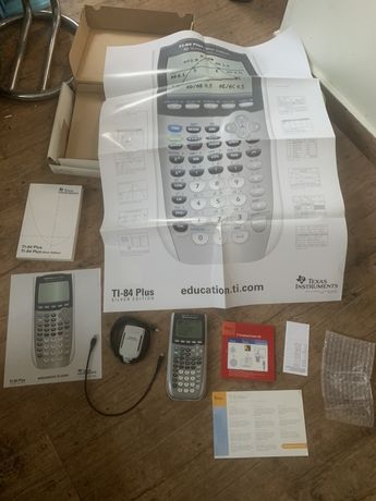Calculadora Grafica Texas TI-84 Silver Edition Presentation Link