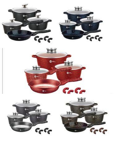 Набор посуды с гранитным антипригарным покрытием